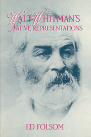 Walt Whitman's Native Representations