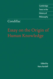 Condillac: Essay on the Origin of Human Knowledge