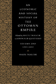 An Economic and Social History of the Ottoman Empire, 1300–1914