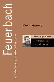 Feuerbach and the Interpretation of Religion