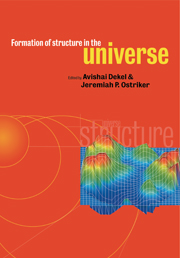 Formation of Structure in the Universe
