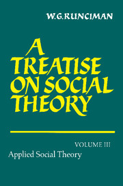 A Treatise on Social Theory