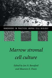 Marrow Stromal Cell Culture