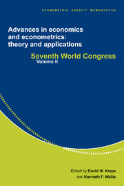 Advances in Economics and Econometrics: Theory and Applications