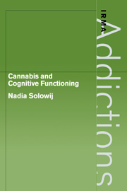 Cannabis and Cognitive Functioning