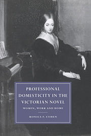 Professional Domesticity in the Victorian Novel