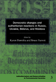 Democratic Changes and Authoritarian Reactions in Russia, Ukraine, Belarus and Moldova