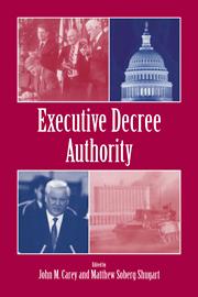 Executive Decree Authority