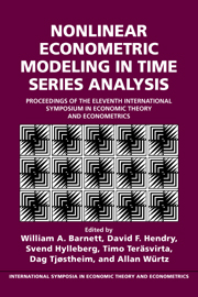 Nonlinear Econometric Modeling in Time Series