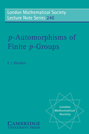 p-Automorphisms of Finite p-Groups