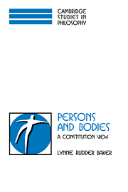 Persons and Bodies