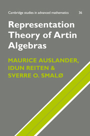 Representation Theory of Artin Algebras