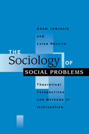 The Sociology of Social Problems