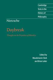 Nietzsche: Daybreak