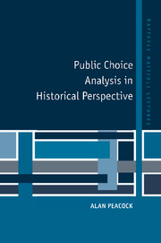 Public Choice Analysis in Historical Perspective