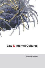 Law and Internet Cultures