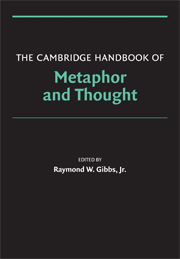 The Cambridge Handbook of Metaphor and Thought