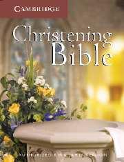 KJV Christening Bible