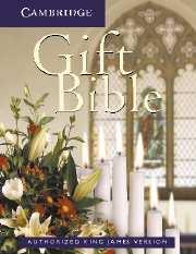 KJV Gift Bible