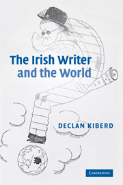 The Irish Writer and the World