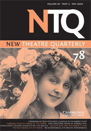 New Theatre Quarterly 78