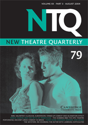 New Theatre Quarterly 79