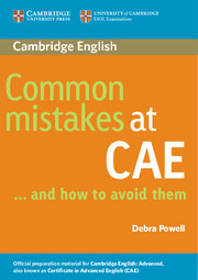 Common Mistakes at CAE… and How to Avoid Them