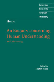 Hume: An Enquiry Concerning Human Understanding