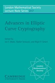 Advances in Elliptic Curve Cr