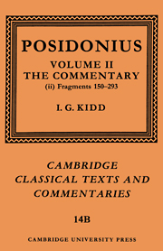 Posidonius: Fragments