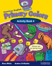 American English Primary Colors 4 | American English Primary Colors ...