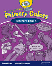American English Primary Colors 4   American English Primary Colors ...