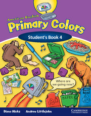 American English Primary Colors 4