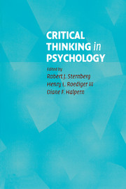 [EPUB] Download Critical Thinking in Psychology: Separating Sense