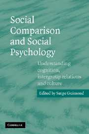 Social Comparison and Social Psychology