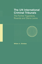 The UN International Criminal Tribunals