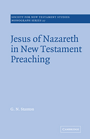 Jesus of Nazareth in New Testament Preaching