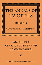 The Annals of Tacitus: Book 3