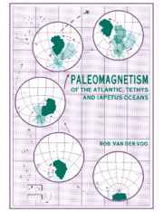 Paleomagnetism of the Atlantic, Tethys and Iapetus Oceans