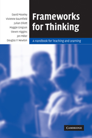 Frameworks for Thinking