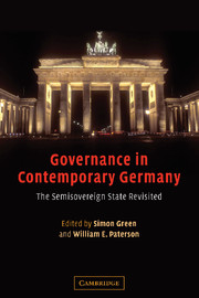 Governance in Contemporary Germany