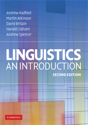 Linguistics introduction 2nd edition english language and look inside linguistics fandeluxe Images
