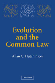 Evolution and the Common Law