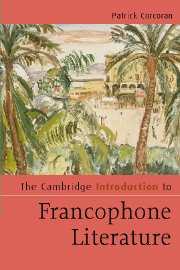 The Cambridge Introduction to Francophone Literature