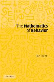 The Mathematics of Behavior