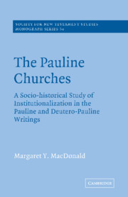 The Pauline Churches