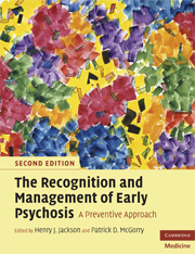 The Recognition and Management of Early Psychosis