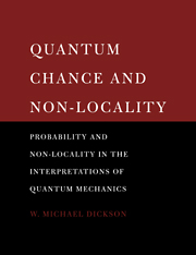 Quantum Chance and Non-locality