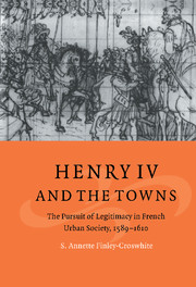 Henry IV and the Towns