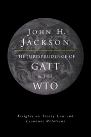 The Jurisprudence of GATT and the WTO